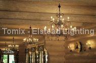 Lampa wisząca AMARILLI kol. SREBRNA PATYNA (AML15/BLK/SIL) - Elstead Lighting