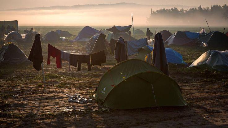 Vom Flüchtlingspakt ausgeschlossen: In Idomeni stirbt die Hoffnung