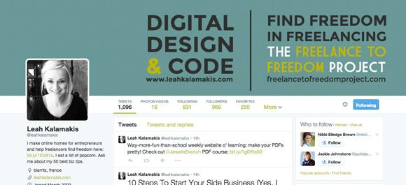 20+ Creative Twitter Header Photos For Inspiration (2014)