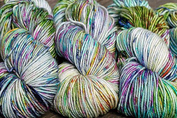 Hand Dyed Cashmere Merino Yarn - Sock