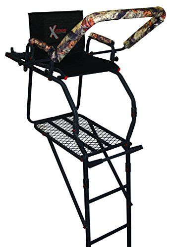 X-Stand The Onyx Ladder Stand, Black   http://huntinggearsuperstore.com/product/x-stand-the-onyx-ladder-stand-black/