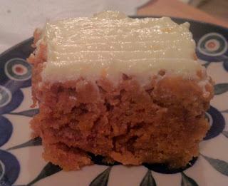 Ciasto dyniowo-korzenne/Spicy pumpkin cake