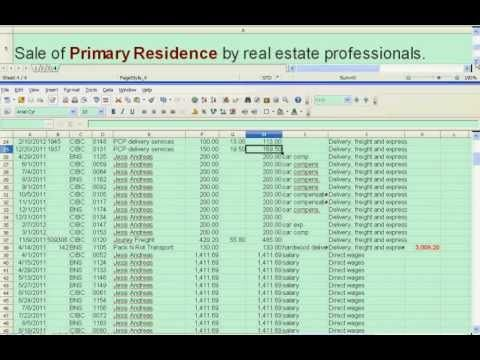 Accounting 101: Accrual Accounting in Excel - YouTube