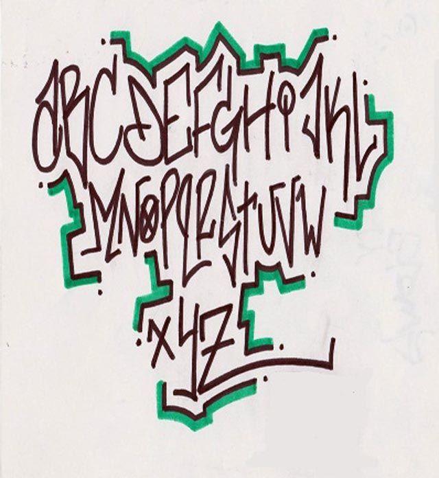 32 Inspirational Graffiti Alphabet Letter Examples