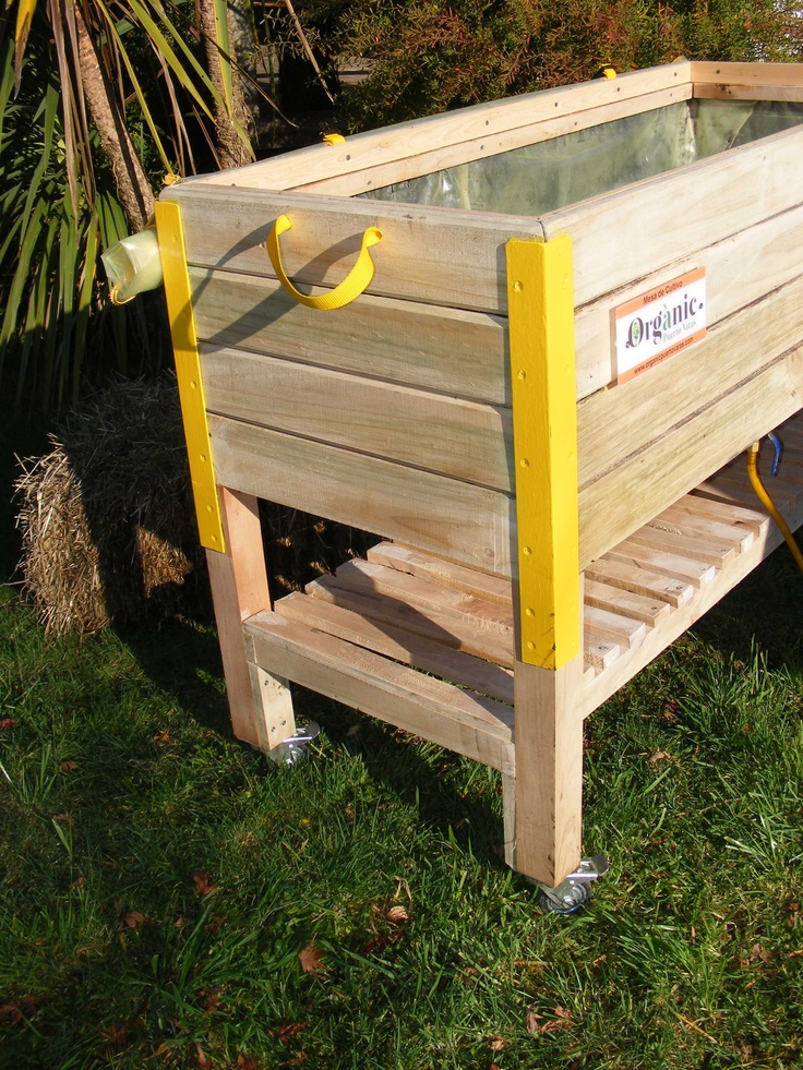 Lateral mesa de cultivo gardening pinterest elevated - Mesa de cultivo aki ...