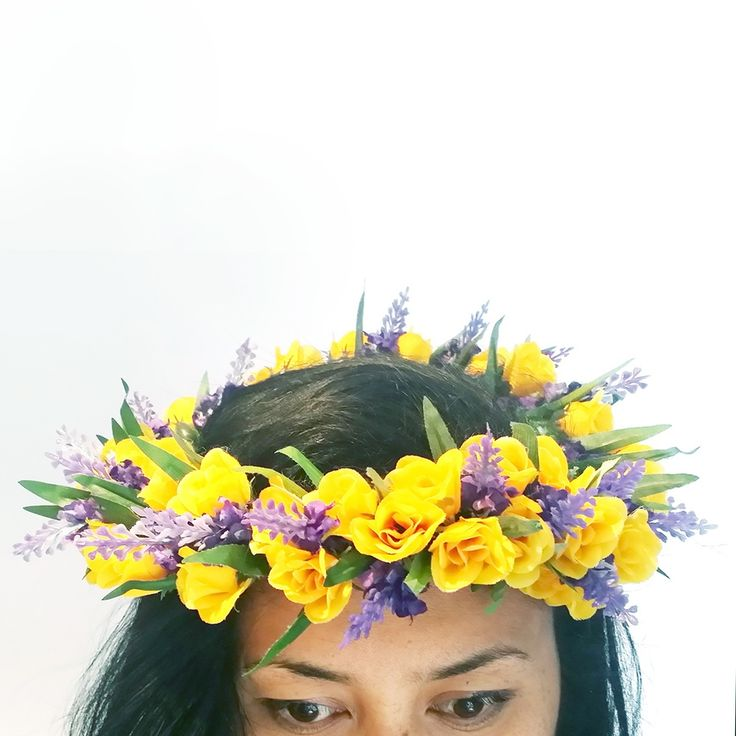 Image of ..I love.. READY TO WEAR STORM FLOWER CROWN