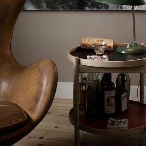 Hans Bølling Black Oak Tray Table by BRDR KRUGER