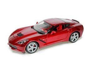 2014 #Chevrolet #Corvette C7 Stingray Metallic Red  by Maisto  Price:$30.02