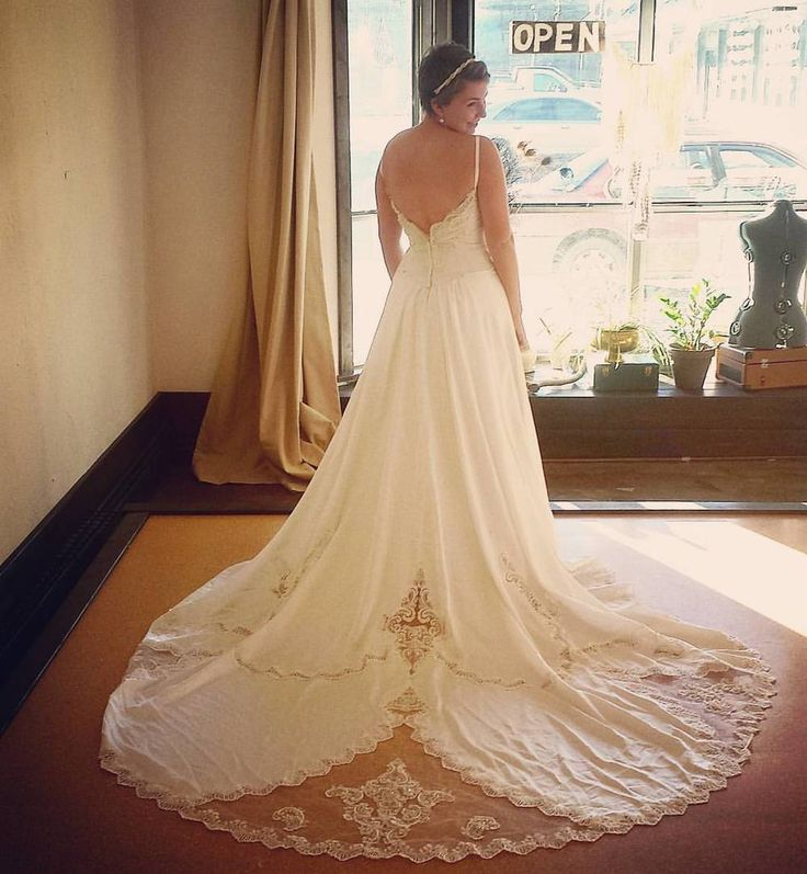 33 best brides images on pinterest bridal bride and brides for Restoring old wedding dresses