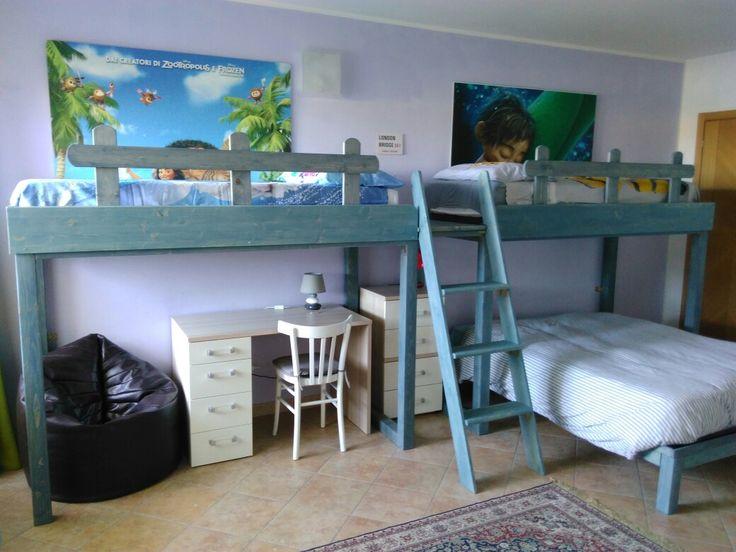 Oltre 25 fantastiche idee su letti a soppalco per bambini su pinterest camere da letto a - Letto a soppalco rising prezzo ...