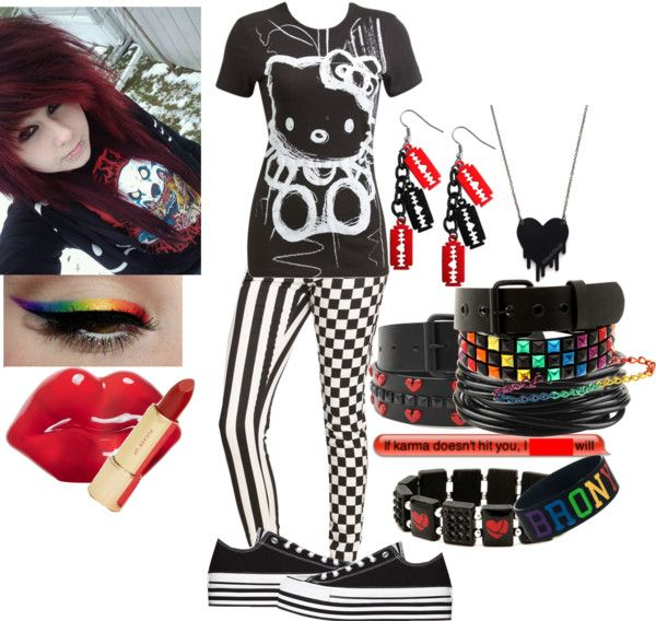 185 Best Images About Emo Clothes On Pinterest