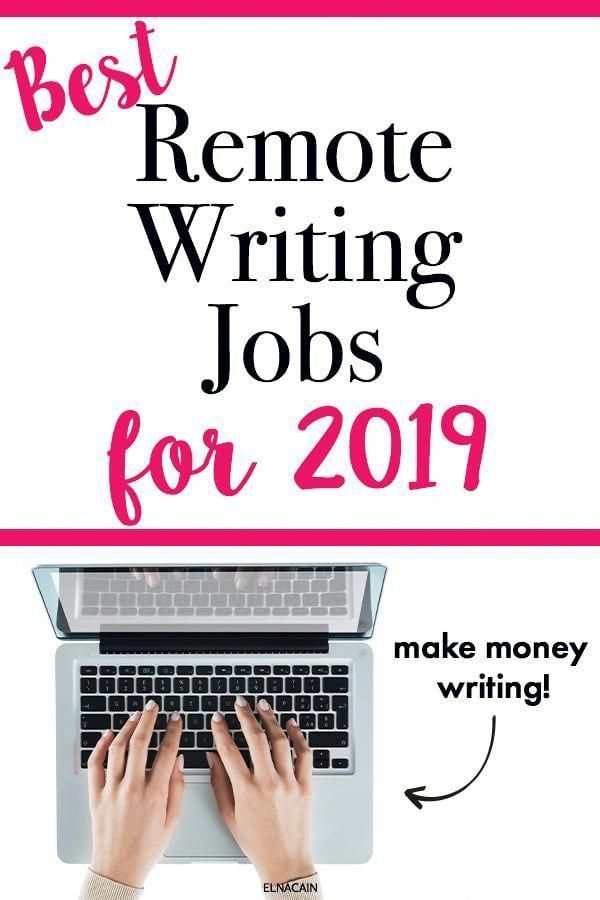 Writing Help To Help You Find Some Remote Writing Jobs For 2019 Learn The Best Writing Jobs For Those Wanti Writing Jobs Online Writing Jobs Freelance Writing
