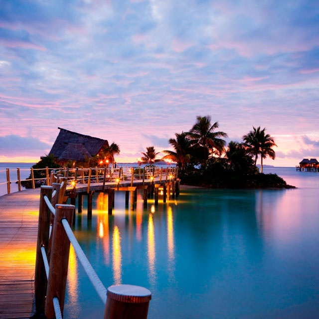 Likuliku Lagoon Resort @ Fiji Islands - looks like a nice place to hang out