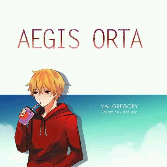 Aegis Orta webtoon character descriptions part 1