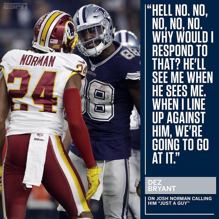 The Cowboys-Redskins game next season should be interesting. (via @espn)