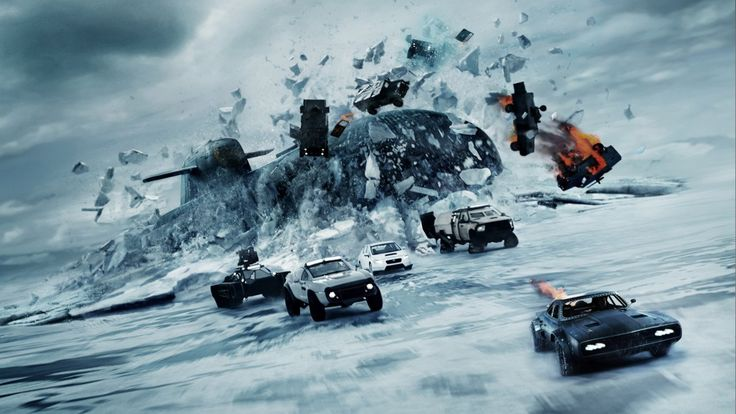"8. ""The Fate of the Furious"""