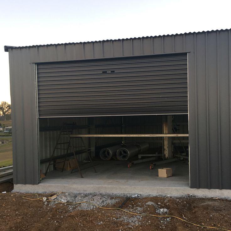 Basalt colorbond shed with monument roller doors. 72 best SHEDS   GARAGES images on Pinterest   Garages  Sheds and Ph