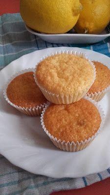 Citrus muffin, aszalt áfonyával