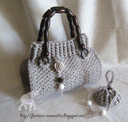 Divina - modello borsa uncinetto, by Fantasia e Manualità - Glfilly, 6,00 € su misshobby.com