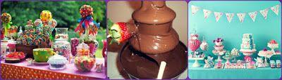 """""""INOLVIDABLES 15"""": ¿Mesa Dulce, Cascada de Chocolates o Candy Bar?"""