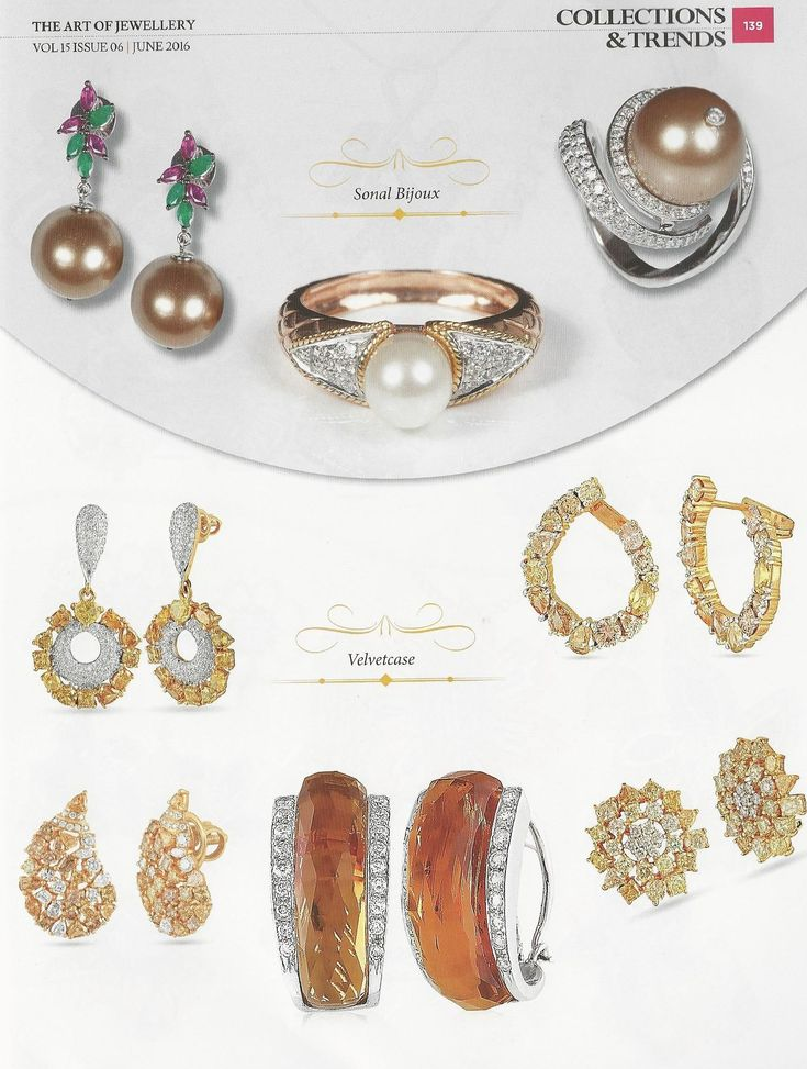 One such thriving vendor in jewellery making is Sonal's Bijoux and Adawna. The stunning embellishments offered by this e-shopping store are creating great impact in the jewellery market.