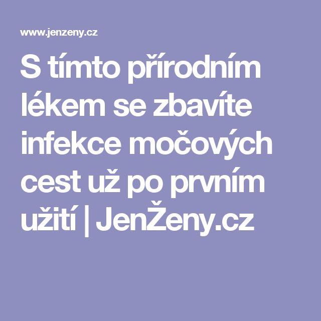 S tímto přírodním lékem se zbavíte infekce močových cest už po prvním užití | JenŽeny.cz