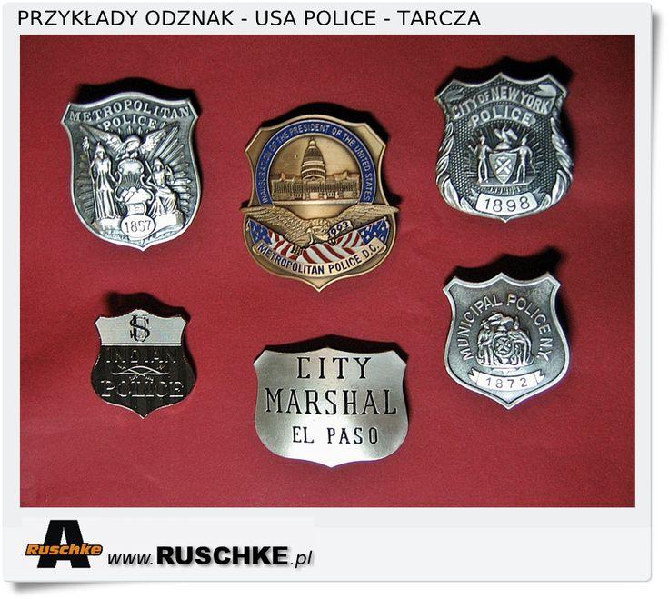 Odznaki amerykańskie. Sheriff Police USA