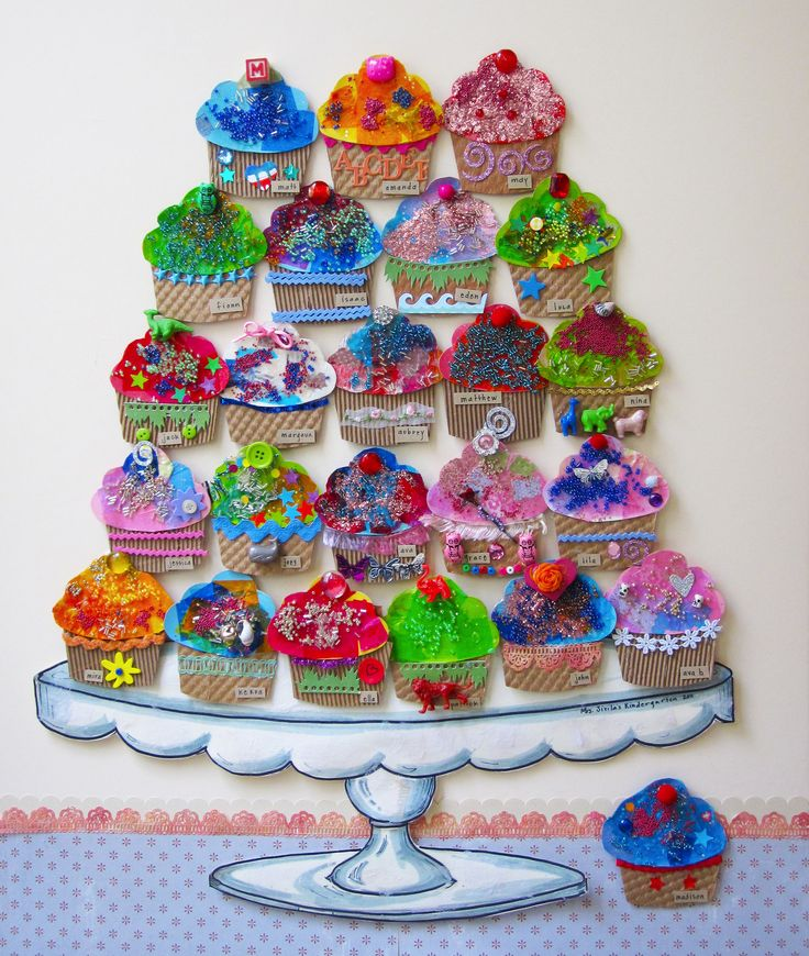 k/1 decorate your own cupcake