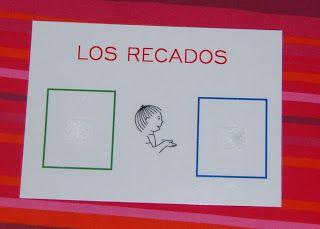 """El baúl de A.L: Carnet """"Los recados""""."""