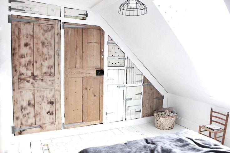 17 best ideas about reclaimed doors on pinterest vintage doors sliding barn door for closet Build your own bedroom wardrobes