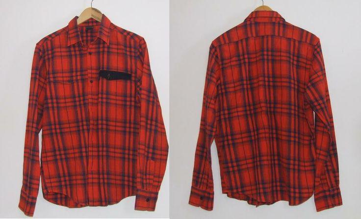 Koszula Hipster w kratę Levi's używana dobry stan