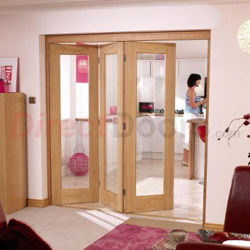 126 best nuvu internal folding doors images on pinterest door sets image of nuvu roomfold pattern 10 oak 3 door set left clear glass planetlyrics Gallery