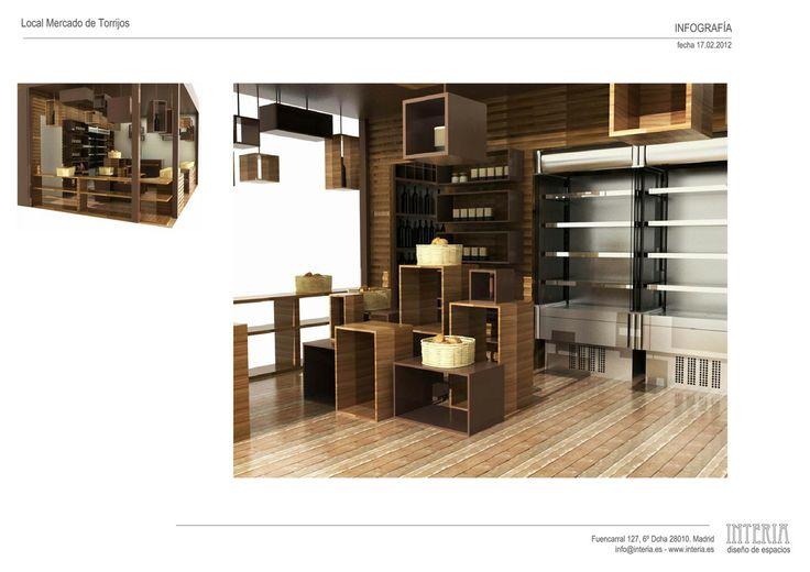 Proyecto de interiorismo tienda gourmet madrid - Interiorismo madrid ...