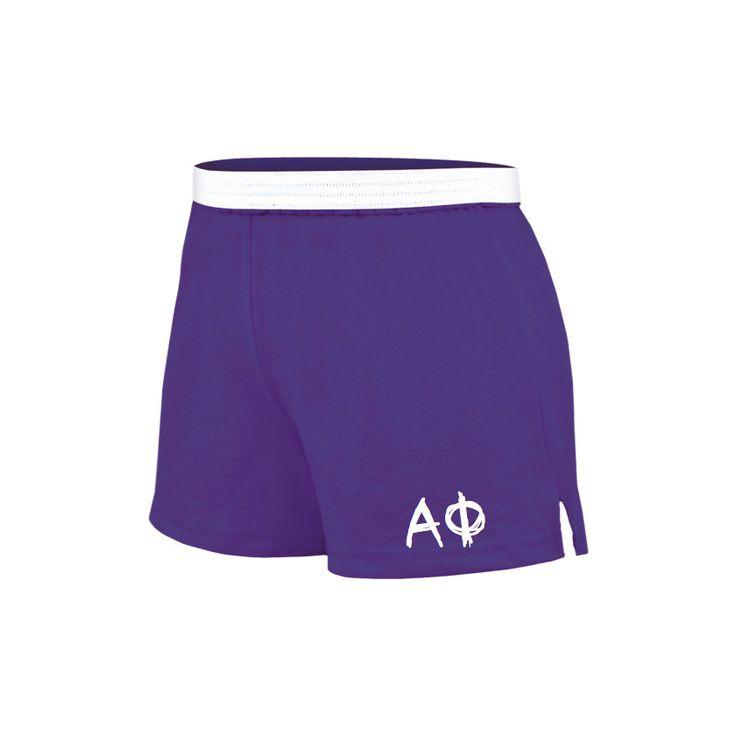 Alpha Phi Shorts . Knit . Custom Colors . Greek Letters