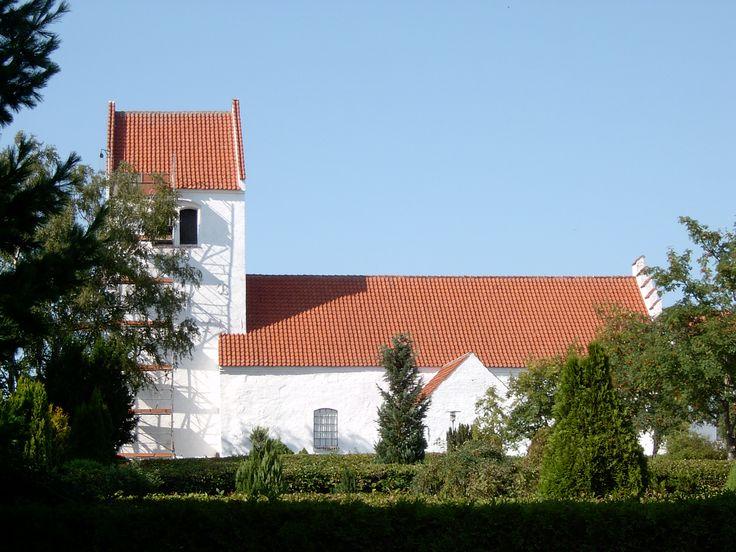 Asnæs Church, Asnæs kirke, Asnæs, Denmark. Photo: Kurt Thorleif Jensen.