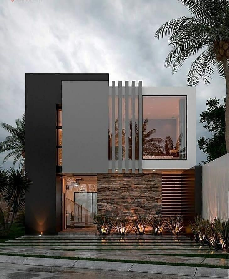 Dream House Exterior, Modern