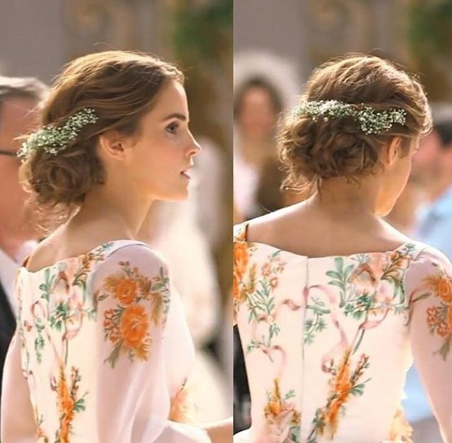 Coiffure Favorite Emma Watson Hair Belle Hairstyle Emma Watson Beauty And The Beast