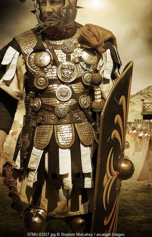 A Roman general © Stephen Mulcahey / Arcangel Images