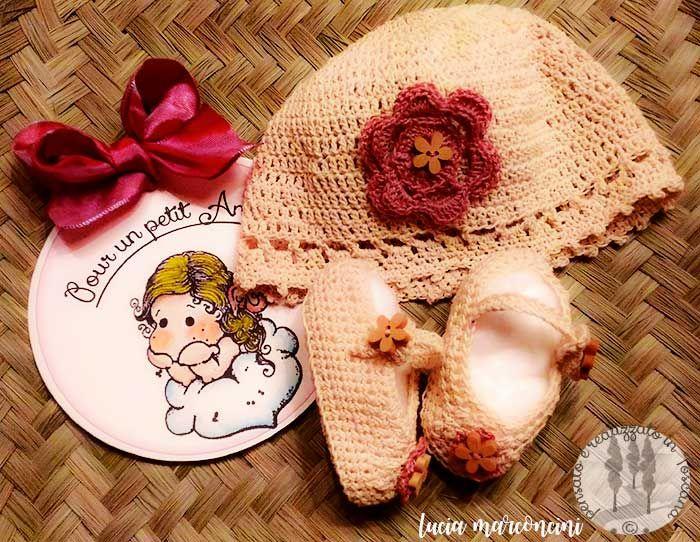 Pour un Petit Ange https://iliveintuscanyistantidiluciamarconcini.com/2017/02/02/pour-un-petit-ange/ #tricot #knit #handmade #handcrafted