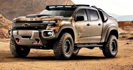 2018 Chevy Colorado ZR2 Gets New Upgrade
