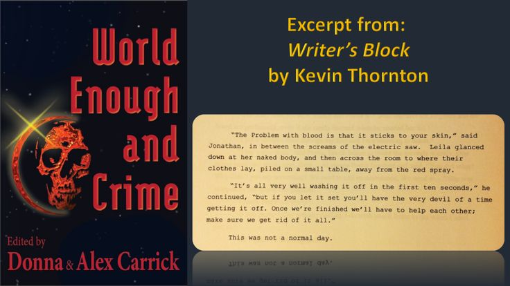 Writer's Block by Kevin Thornton