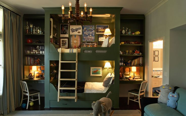 Great boys room by Tim Barber Ltd. Architecture