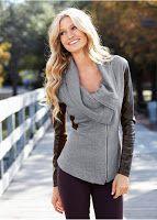Jachetă casual  în tendințe (bonprix)