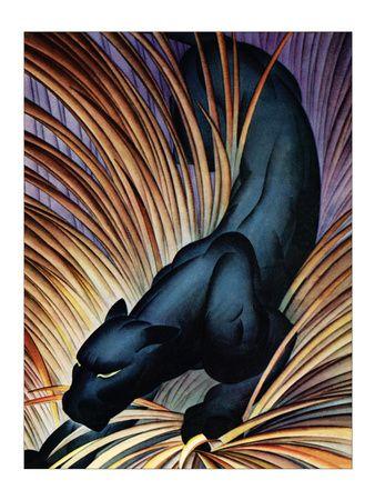 Black Panther Art Print at AllPosters.com