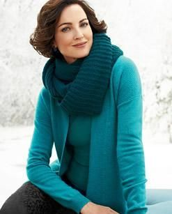 Cashmere #ColdwaterCreek. I love the color and that it looks soft and warm.
