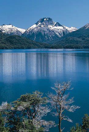 Lago  Mascardi, Rio Negro