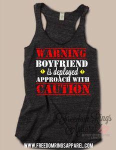 Warning: Boyfriend Deployed Top