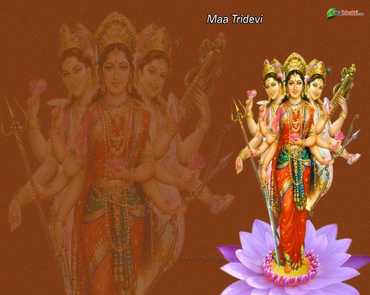 tridevi | durga wallpaper, Hindu wallpaper, Tridevi Maa wallpaper, yellow ...