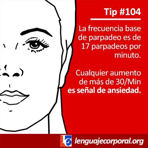 Tip 104: ¿Qué significa cuando el parpadeo es excesivo?
