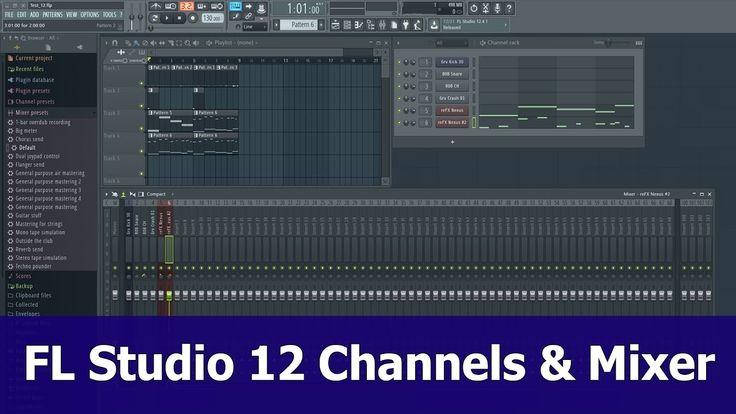 FL Studio 12 Mixer Tutorial: Route channels